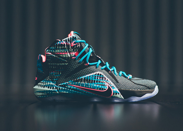 """finest selection 38734 99126 Nike LeBron 12 """"Blue Lagoon"""" In Stores January 17 
