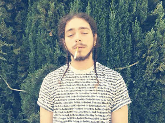 "3f520a3fcdd5b Up and coming artist Post Malone has had a crazy 2015 so far with the  release of his hit single(s) ""White Iverson"" and ""Too Young."