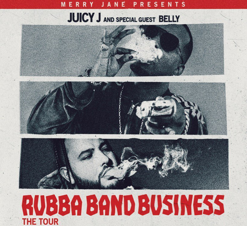 Juicy J Rubba Band Business  Tour