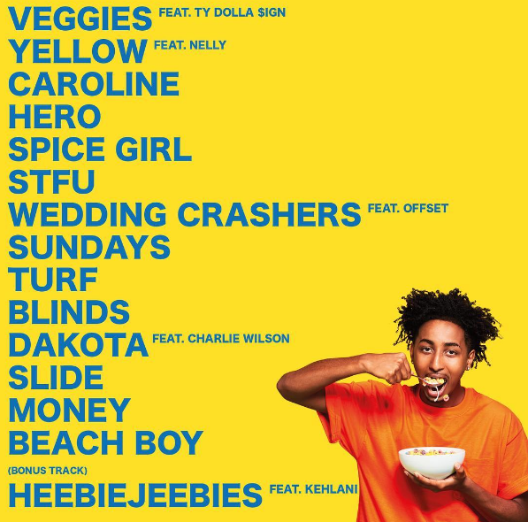 heyamine good for you tracklist