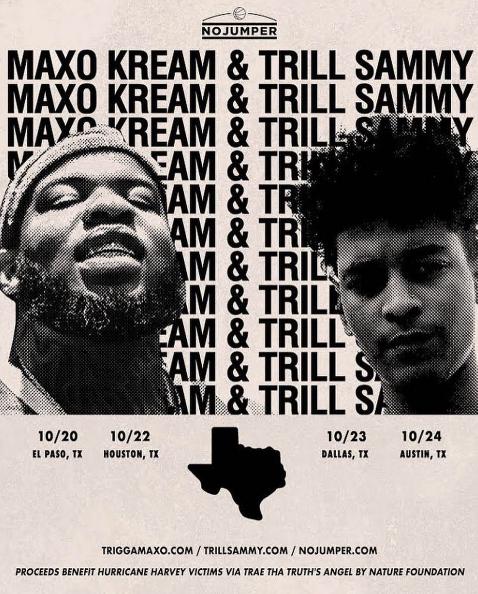 maxo and sammy texas tour