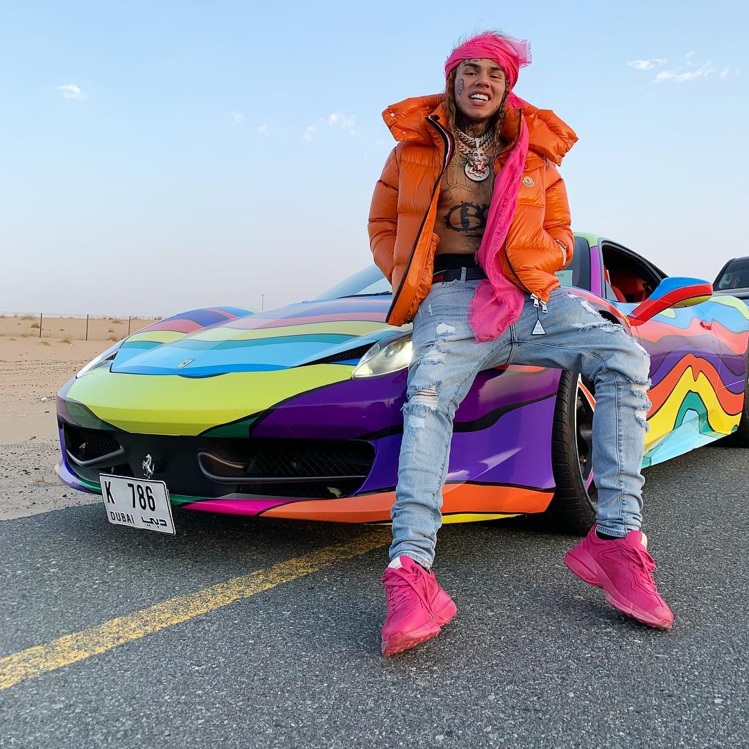 Daily Chiefers 6ix9ine Continues To Level Up With His
